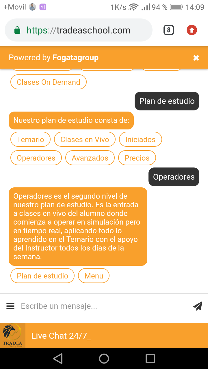 Web Chatbot Educativo Tradea School Screenshot_2019-04-25-14-09-56