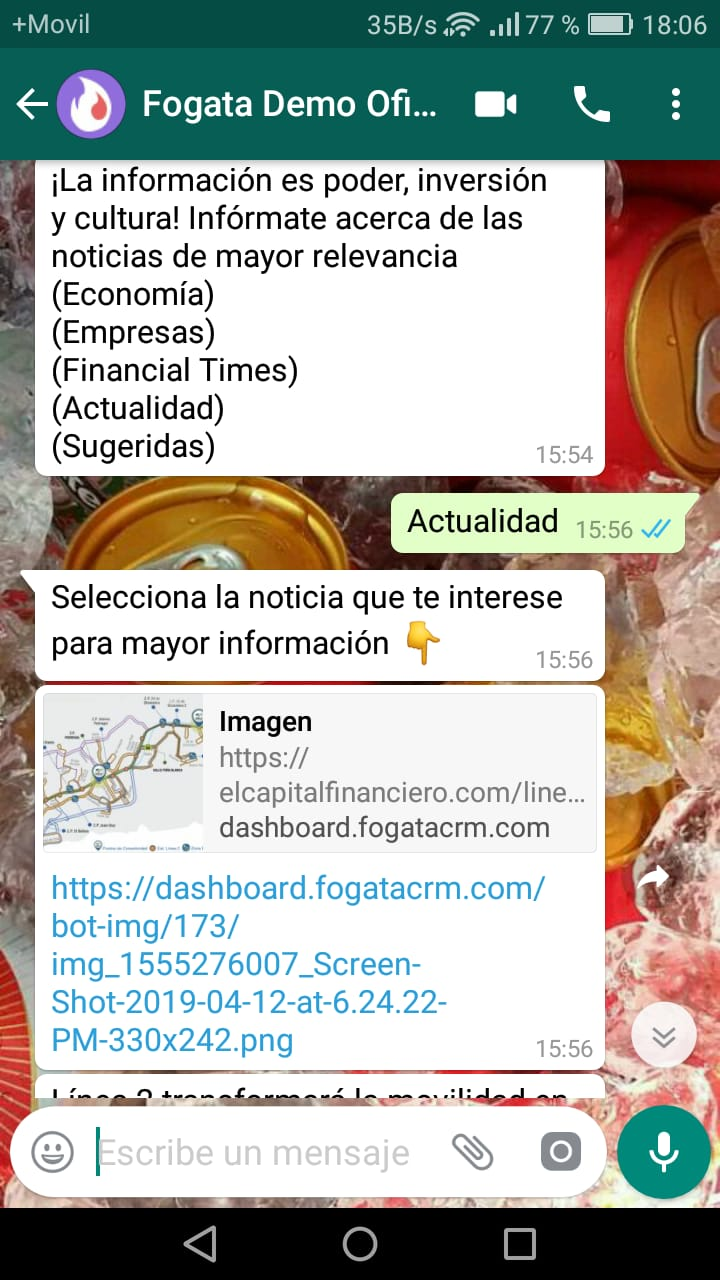 WhatsApp Chatbot Noticia Image 2019-04-25 at 18.07.23