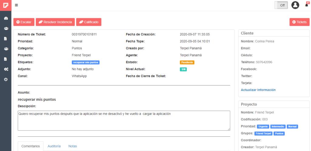 Contact Center Panama - Global Idea - Chatbot Help Desk
