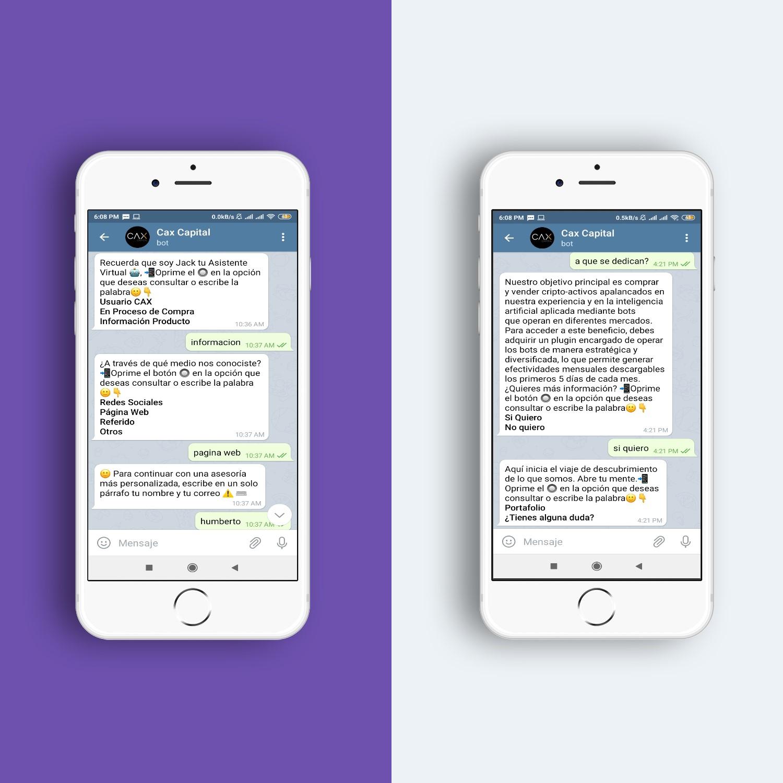 Telegram Chabot Panamá - Global Idea - Fogata Bots